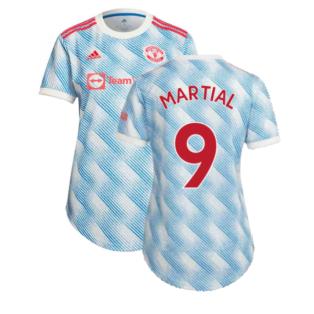 Man Utd 2021-2022 Away Shirt (Ladies) (MARTIAL 9)