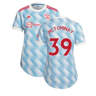 Man Utd 2021-2022 Away Shirt (Ladies) (McTOMINAY 39)