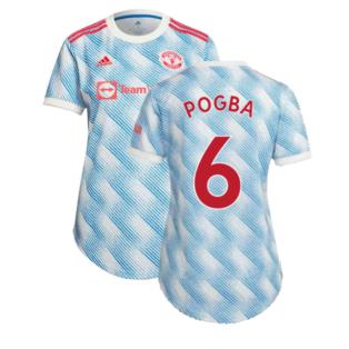Man Utd 2021-2022 Away Shirt (Ladies) (POGBA 6)