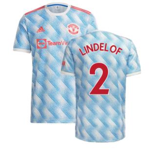 Man Utd 2021-2022 Away Shirt (LINDELOF 2)