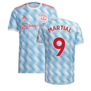 Man Utd 2021-2022 Away Shirt (MARTIAL 9)