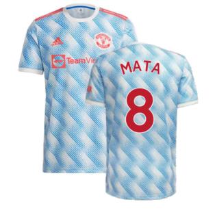 Man Utd 2021-2022 Away Shirt (MATA 8)