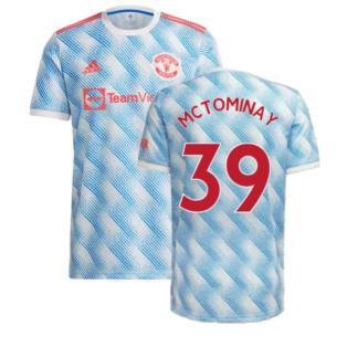 Man Utd 2021-2022 Away Shirt (McTOMINAY 39)