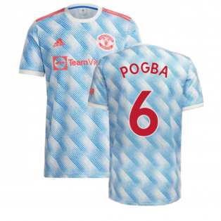 Man Utd 2021-2022 Away Shirt (POGBA 6)