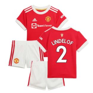 Man Utd 2021-2022 Home Baby Kit (LINDELOF 2)