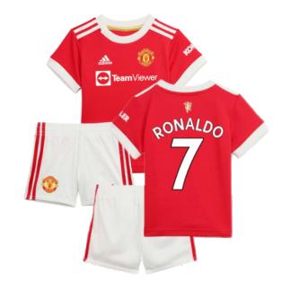 Man Utd 2021-2022 Home Baby Kit (RONALDO 7)