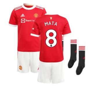 Man Utd 2021-2022 Home Mini Kit (MATA 8)