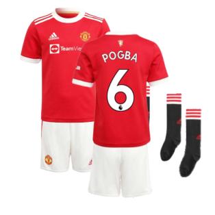 Man Utd 2021-2022 Home Mini Kit (POGBA 6)