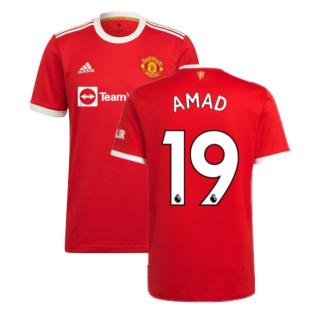 Man Utd 2021-2022 Home Shirt (AMAD 19)