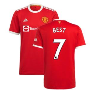 Man Utd 2021-2022 Home Shirt (BEST 7)