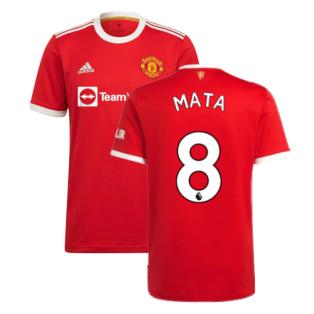 Man Utd 2021-2022 Home Shirt (MATA 8)
