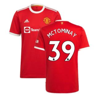 Man Utd 2021-2022 Home Shirt (McTOMINAY 39)