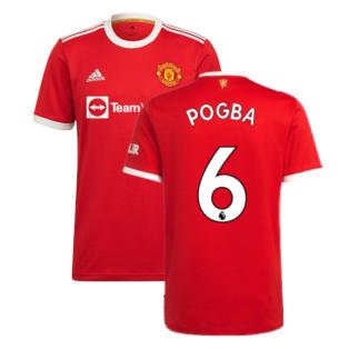 Man Utd 2021-2022 Home Shirt (POGBA 6)