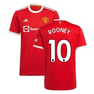 Man Utd 2021-2022 Home Shirt (ROONEY 10)