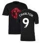 Man Utd 2021-2022 Tee (Black) (CHARLTON 9)