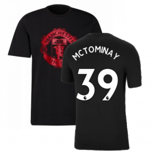 Man Utd 2021-2022 Tee (Black) (McTOMINAY 39)