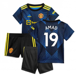 Man Utd 2021-2022 Third Baby Kit (Blue) (AMAD 19)