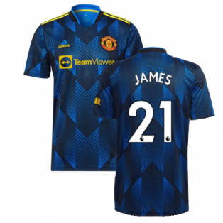 Man Utd 2021-2022 Third Shirt (JAMES 21)