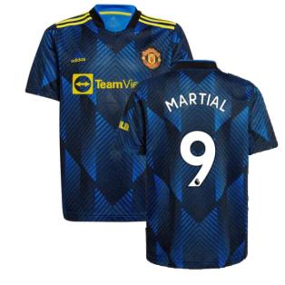 Man Utd 2021-2022 Third Shirt (Kids) (MARTIAL 9)
