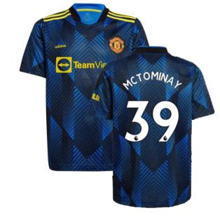 Man Utd 2021-2022 Third Shirt (Kids) (McTOMINAY 39)