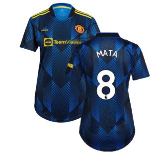 Man Utd 2021-2022 Third Shirt (Ladies) (MATA 8)
