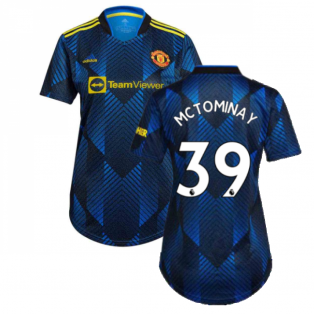 Man Utd 2021-2022 Third Shirt (Ladies) (McTOMINAY 39)