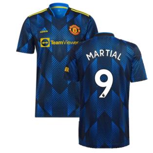 Man Utd 2021-2022 Third Shirt (MARTIAL 9)