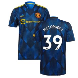 Man Utd 2021-2022 Third Shirt (McTOMINAY 39)