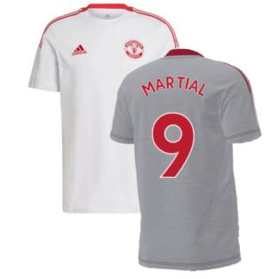 Man Utd 2021-2022 Training Tee (Grey) (MARTIAL 9)