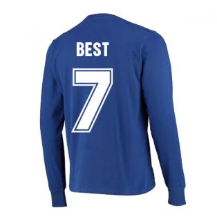 Manchester United 1968 European Cup Final Retro Football Shirt (BEST 7)