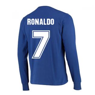 Manchester United 1968 European Cup Final Retro Football Shirt (RONALDO 7)