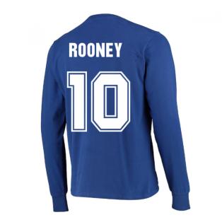 Manchester United 1968 European Cup Final Retro Football Shirt (ROONEY 10)