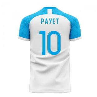 Marseille 2020-2021 Home Concept Football Kit (Libero) (PAYET 10)