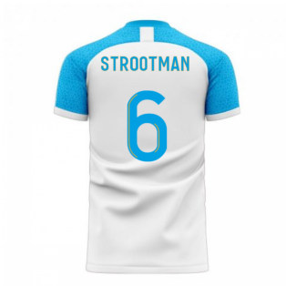 Marseille 2020-2021 Home Concept Football Kit (Libero) (STROOTMAN 6)