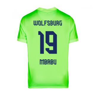 2020-2021 VFL Wolfsburg Home Nike Football Shirt (MBABU 19)