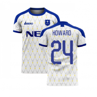 Merseyside 2020-2021 Away Concept Football Kit (HOWARD 24)