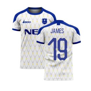 Merseyside 2020-2021 Away Concept Football Kit (James 19)