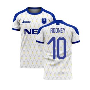 Merseyside 2020-2021 Away Concept Football Kit (ROONEY 10)