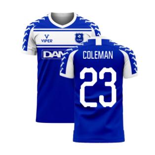 Merseyside 2020-2021 Home Concept Football Kit (Viper) (COLEMAN 23)