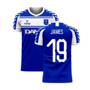 Merseyside 2020-2021 Home Concept Football Kit (Viper) (James 19)