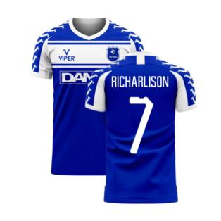 Merseyside 2020-2021 Home Concept Football Kit (Viper) (Richarlison 7)