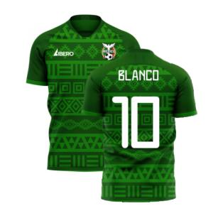 Mexico 2020-2021 Home Concept Football Kit (Libero) (BLANCO 10)