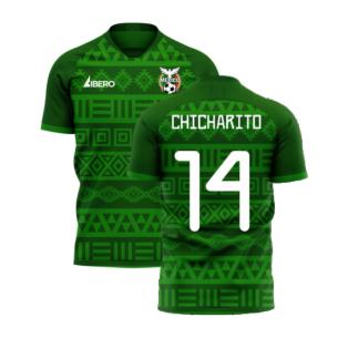 Mexico 2020-2021 Home Concept Football Kit (Libero) (CHICHARITO 14)