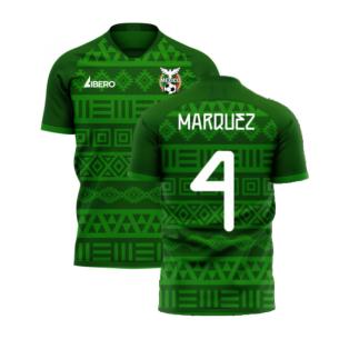 Mexico 2020-2021 Home Concept Football Kit (Libero) (MARQUEZ 4)