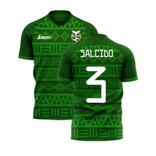 Mexico 2020-2021 Home Concept Football Kit (Libero) (SALCIDO 3)