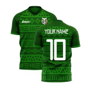 Mexico 2020-2021 Home Concept Football Kit (Libero) (Your Name)
