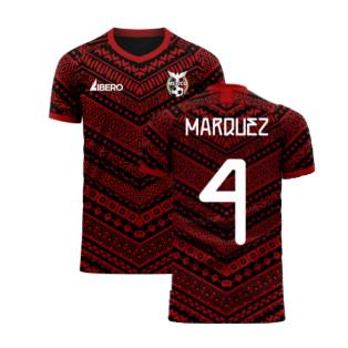 Mexico 2020-2021 Third Concept Football Kit (Libero) (MARQUEZ 4)