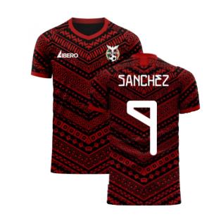 Mexico 2020-2021 Third Concept Football Kit (Libero) (SANCHEZ 9)