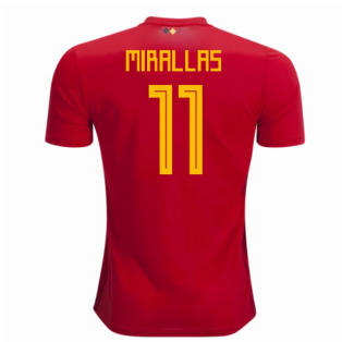 2018-2019 Belgium Adidas Home Shirt (Mirallas 11) - Kids