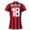 2017-2018 AC Milan Womens Home Shirt (Montolivo 18)